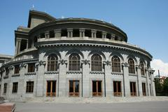 Opera theater in yerevan Stock Photos