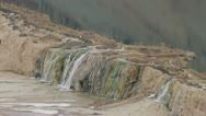 Stock Video Footage of Litlle waterfall on a lake, afghanistan