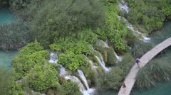 Streams and Cascades - stock footage