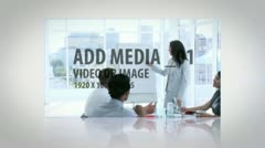 3d Media Reveal Stock After Effects