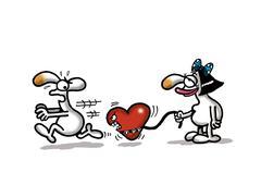 Love Pet Stock Illustration