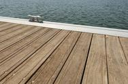 Stock Photo of floating dock
