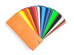 color scale book - stock photo
