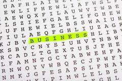 Business buzz word concept - stock photo
