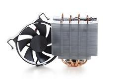 High performance cpu cooler Stock Photos