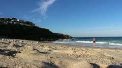Bronte Beach, Sydney (6) Stock Footage