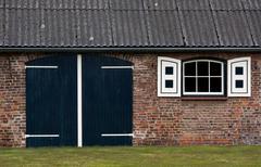Dutch farmhouse Stock Photos
