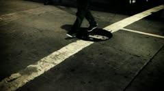 Strolling Gotham City Stock Footage