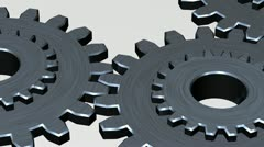 3d Gears movement - stock footage