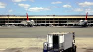 Stock Video Footage of Empty Airport Terminal