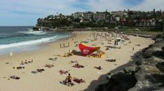 Bronte Beach, Sydney (2) Stock Footage