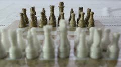 Chess Set Stock Footage