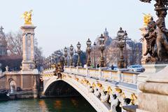 Stock Photo of pont alexandre iii in paris