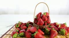 Strawberry Stock Footage