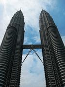 Kuala Lumpur famous architecture. Malaysia - stock photo