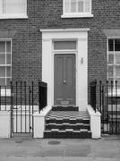 Stock Photo of british door