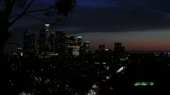 Down Town L.A._03_1920_30FPS Stock Footage