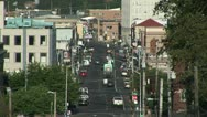 City traffic overview Stock Footage