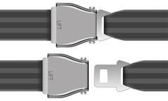 seat belt - stock illustration