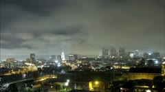 Down Town L.A._09_Timelapse 1920_30 Stock Footage