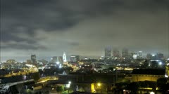 Down Town L.A. Time lapse Longer  Stock Footage