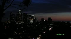Down Town L.A. Stock Footage