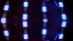Spinning LED light Abstract Stock Footage