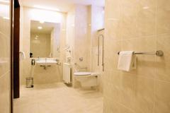 Stock Photo of the luxury bathroom