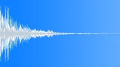Boom Flutter 01 Sound Effect