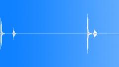 Spacebar press - sound effect