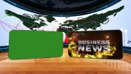 14 bus news W red 2 Stock Footage