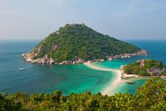 Stock Photo of nang yuan island, koh tao, thailand