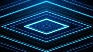 Abstract Diamond Vortex Loop Background Stock Footage