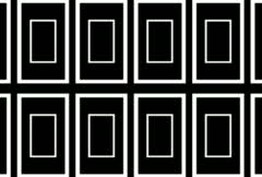 Rectangle Panel Marquee Loop Matte Stock Footage