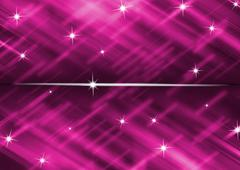 Bright pink background with star glitter abstract Stock Illustration