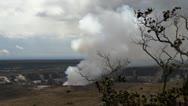 Kilauea Volcano, Timelapse, Big Island, Hawaii, USA Stock Footage