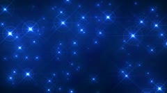 Glitter Blue Flash Background Loop - stock footage