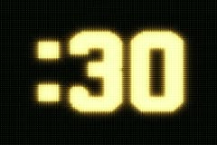 Jumbotron 30 second countdown Stock Footage