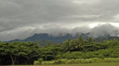 Kualoa Regional Park, Timelapse, Oahu, Hawaii, USA Stock Footage