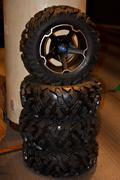 Jeep wheel3 Stock Photos