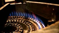 Industrial Gas Burner Stock Footage