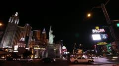 Las Vegas Cityscape, Timelapse, Nevada, USA Stock Footage