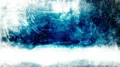 Dirty Blue Newsprint Grunge Background - stock footage