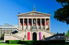 alte nationalgalerie berlin - stock photo