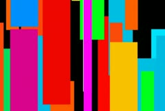 Abstract Mosaic of Moving Color Bars Loop Stock Footage
