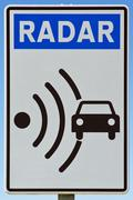 signal indicator radar - stock photo