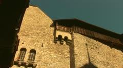 Chillon Castle d Stock Footage