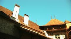 Chillon Castle f Stock Footage