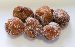 lent fritters - stock photo