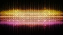 VU Glitter Meter Particle Blasts Streaks Stock Footage